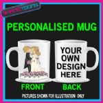 WEDDING BRIDE GROOM MUG PERSONALISED GIFT ADD PICTURE / WRITING